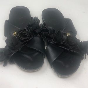 Tory sandal black sz 7 rare sold out